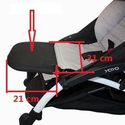 New Universal Bébé Poussette Accessoires Pied de Lit pour Babyzenes Yoyo Yoya YuYu Repose-Pied Infantile Voitures 15 cm ou 21 cm Feetboard
