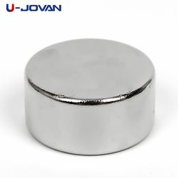 U-JOVAN 5 pcs/lot 20mm x 10mm Super Strong Ronde Puissant Rare Earth Aimants En Néodyme Aimant N35