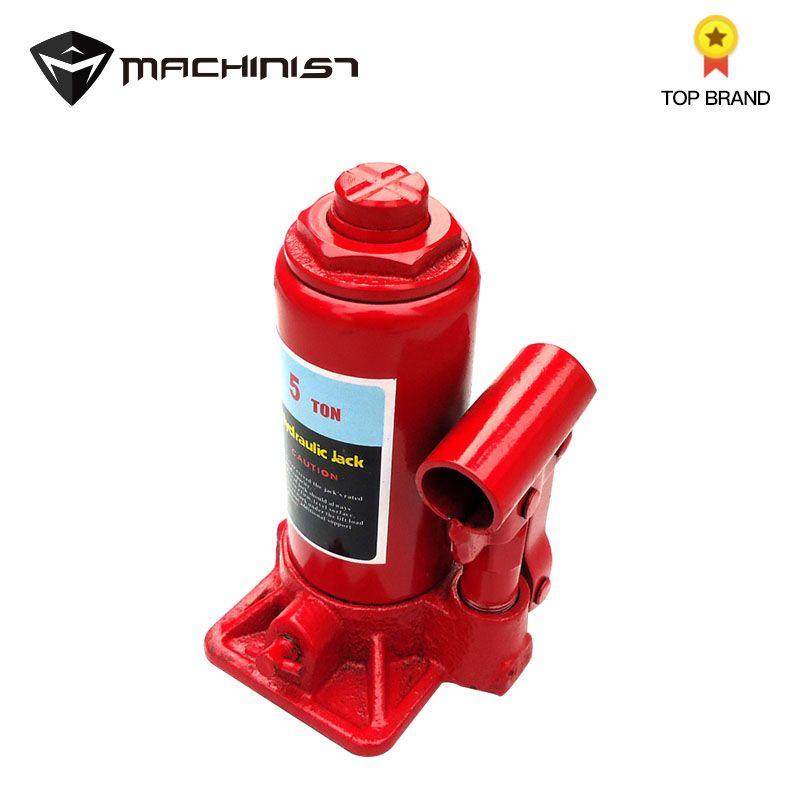 1pc 5Ton Car Portable Hydraulic Bottle Lifting Jack Automotive Lift for Car Truck Caravan Tractors Tool