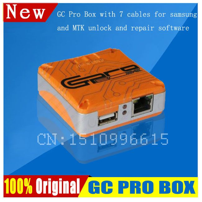 2018 Newest GC Pro Box GC PRO BOX with 7 cabels For Samsung and MTK, ZTE,HUAWEI,CDMA ECT