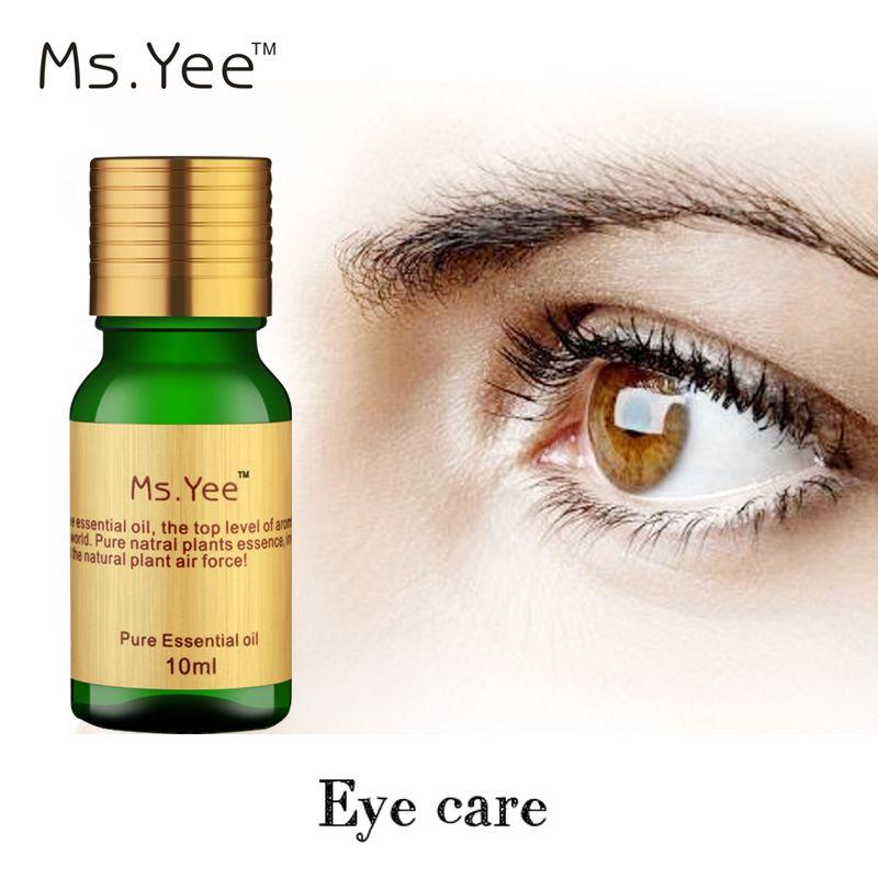 Meilleur Beauté Soins Yeux Huile Essentielle pour Les Cernes Suppression Des Yeux Sac 100% Naturel Extrait de Plante Eye Massage Huiles Livraison gratuite