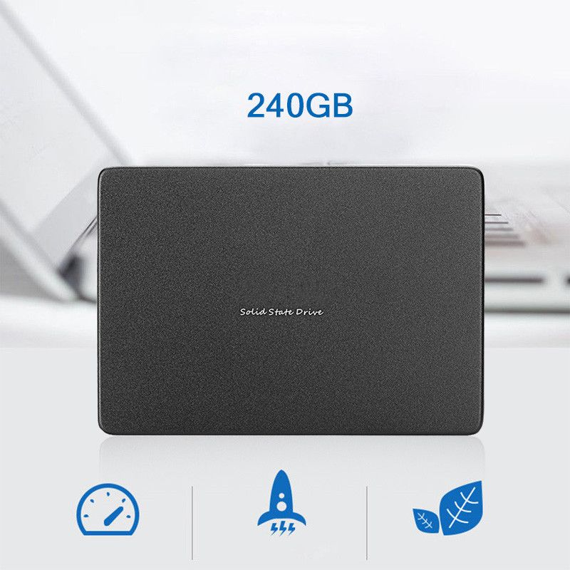 240GB 2.5inch SATA 3 6Gbps Internal SSD Solid State Drive Hard Drive Hard Disk for Notebooks Tablets and Ultrabooks
