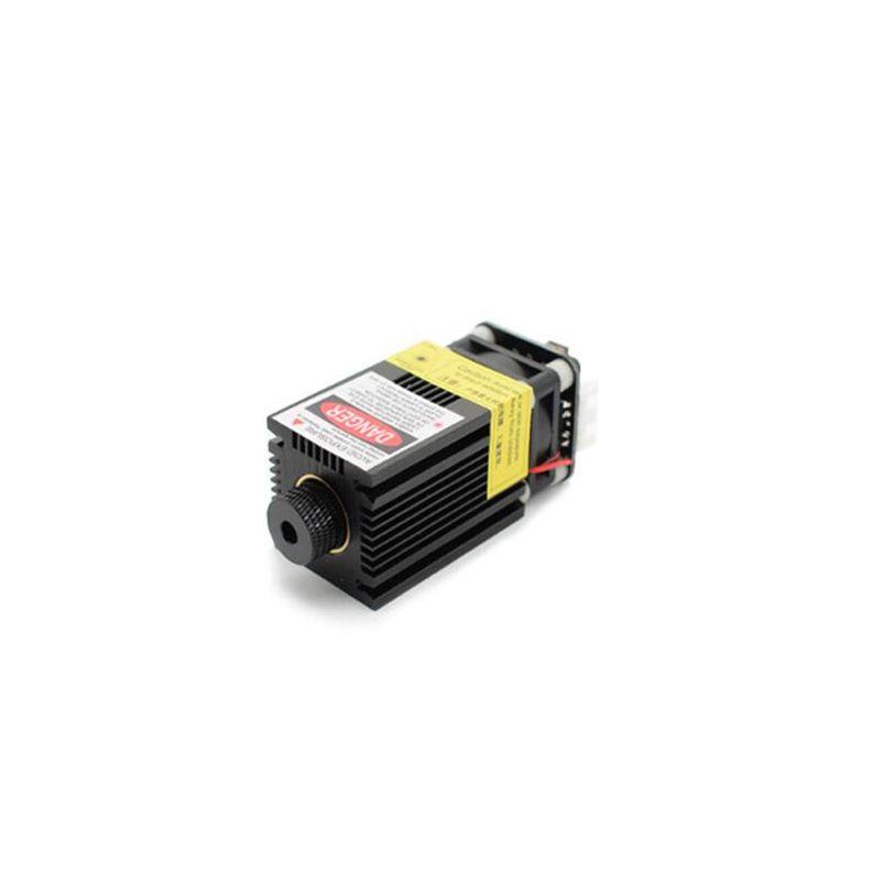 500/2500/5500/7000mw 405/445NM focusing blue purple laser module engraving laser tube diode ttl pmw control+goggle