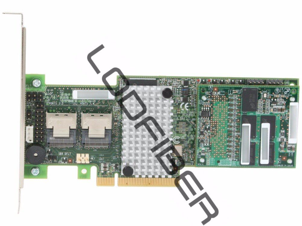 LSI MegaRAID Internal SAS 9265-8i 6Gb/s Dual Core ROC w/ 1GB cache memory RAID Controller Card, Kit