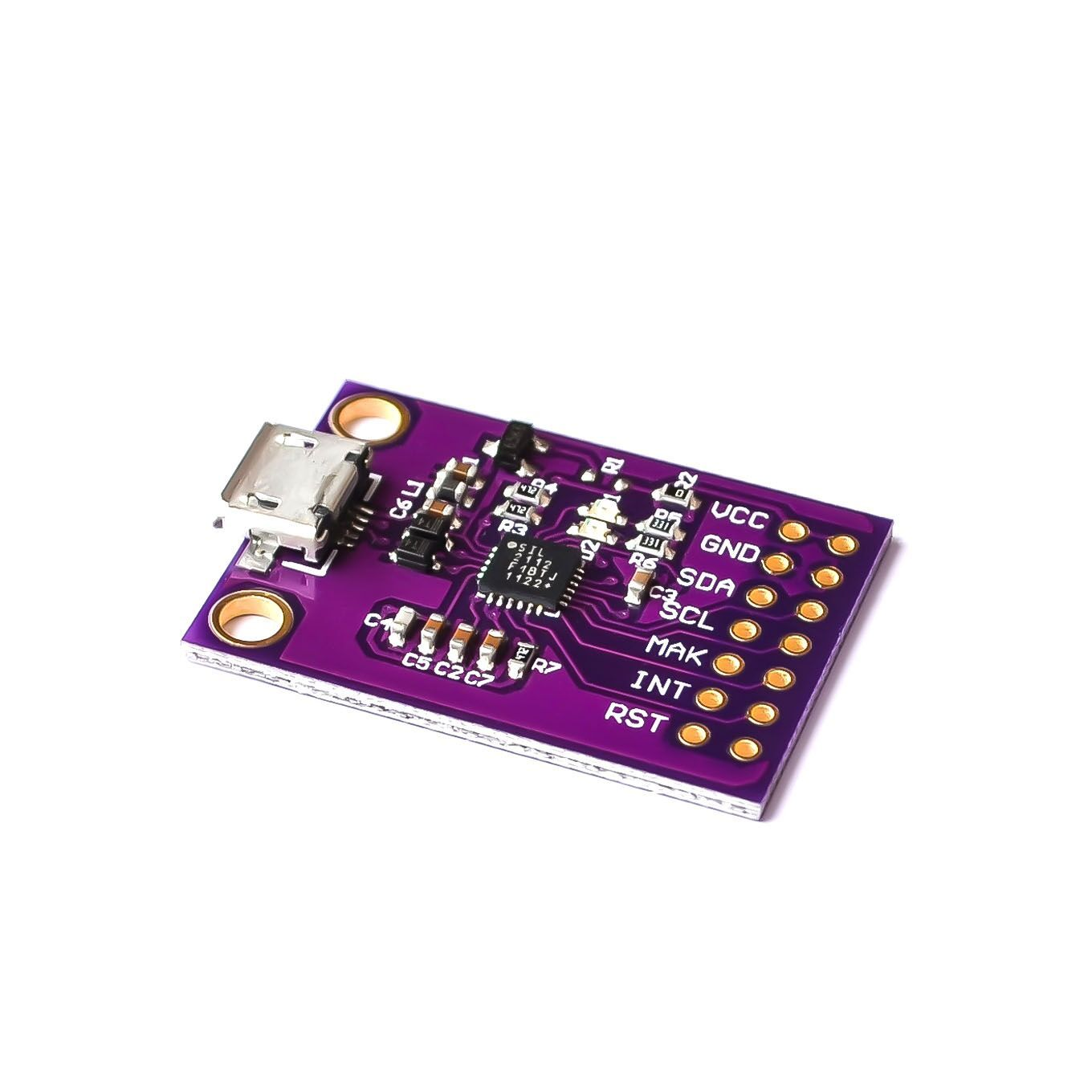 2112 CP2112 Evaluation kit for the CCS811 Debug board USB to I2C communication
