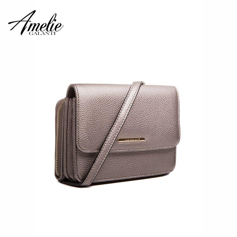 AMELIE GALANTI Design 2018 Crossbody Taschen mini taschen Für Frauen telefon Pu Leder Handtasche Messenger Taschen Tier Druck Schulter