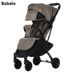 Babolo YOYA PLUS 3 baby stroller delivery free ultra light folding can sit or lie high landscape suitable 4 seasons high demand