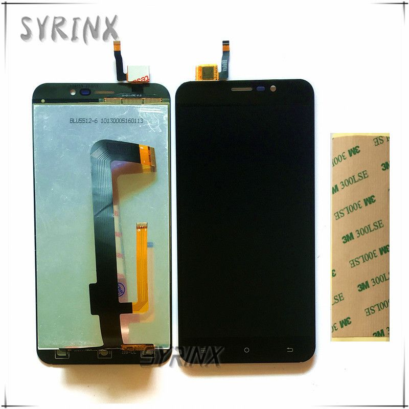 Syrinx With Tape Moible Phone LCD Display For Cubot Note S Touch + LCD Screen Assembly Replacement