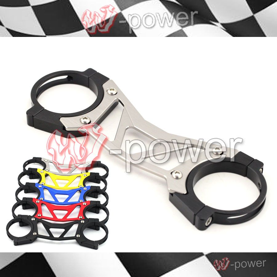 For HONDA NC700X NC700S NC700 S/X 2012-2013 Gold BALANCE SHOCK FRONT FORK BRACE Motorcycle Accessories