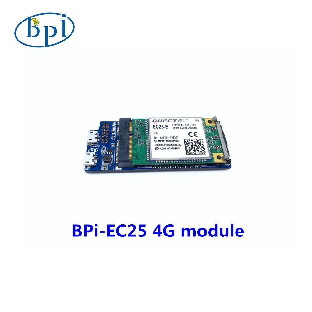 Banana PIEC25-E 4G module , only applies to Banana PI R2 board at present