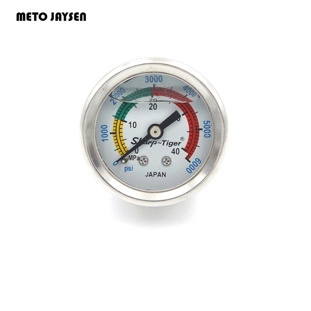 PCP Пейнтбол Airsoft высокое Давление жидкость/масляные Дайвинг Давление 1.5 дюйм(ов) Измерительные приборы 40 мм Диаметр 40MPA/6000PSI GM001