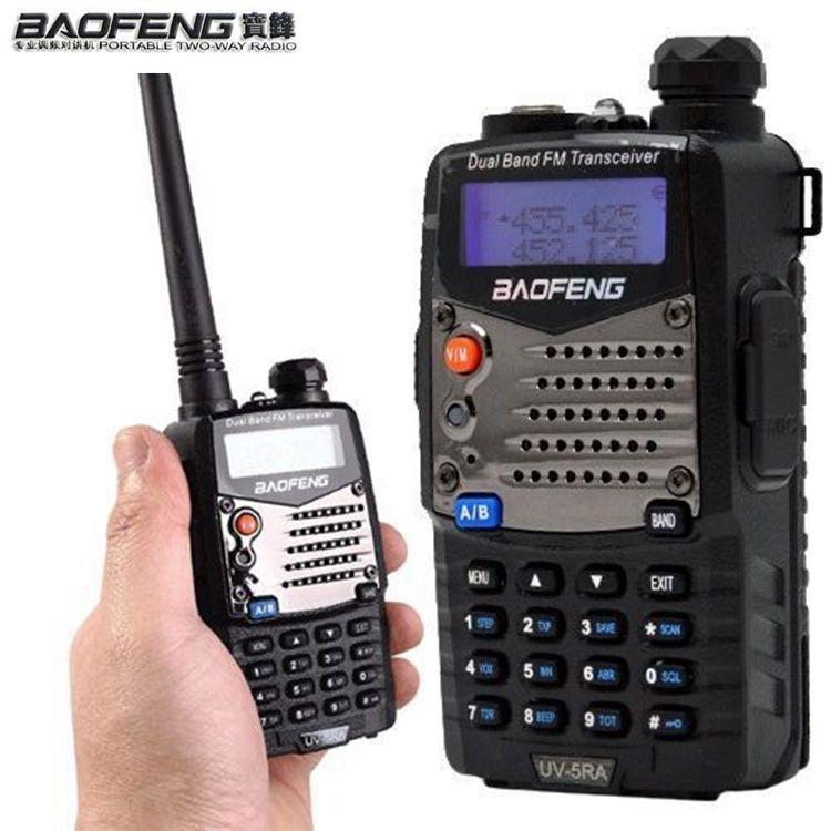 Long Range Walkie Talkie Uhf Vhf Pofung UV-5RA Is Upgraded BAOFENG UV5R For CB Radio Station Radio Scanner Police Two-Way Radio