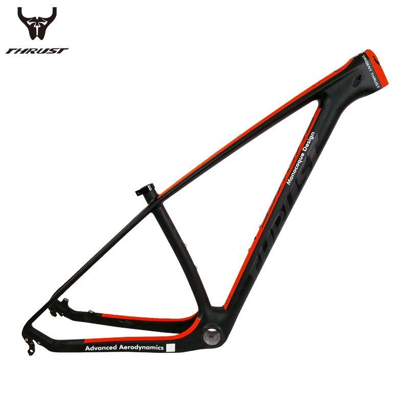 THHRUST Carbon mtb Frame 29er T1000 Carbon Mountain Bike Frame 29er 27.5 Bicycle Carbon Frame 15 17 19 inch 7 Colors