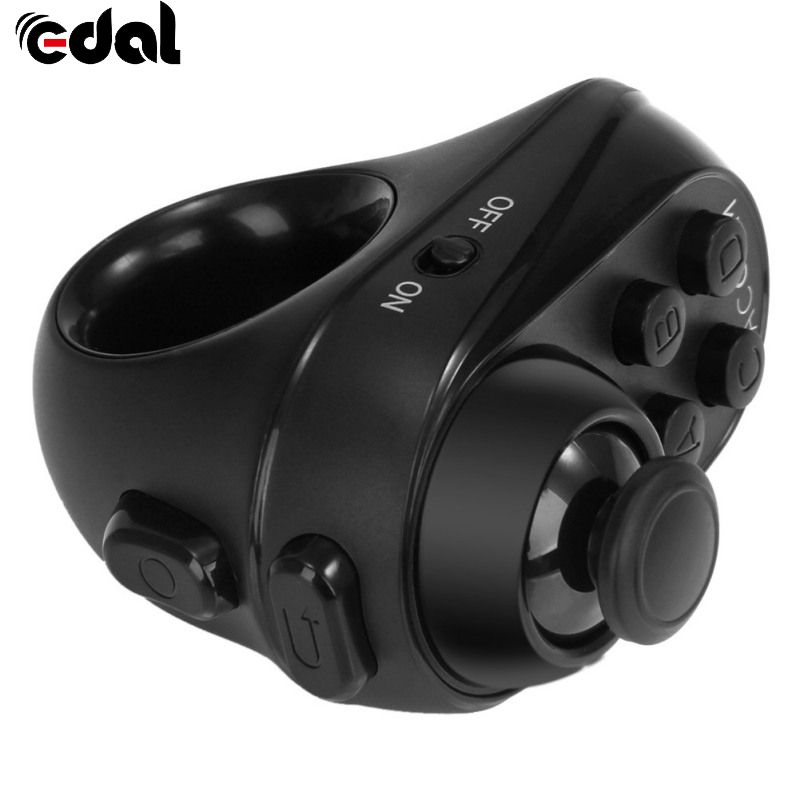 EDAL Mobile Joystick Android Gamepad Controller Bluetooth Wireless VR glasses Remote Control for iPhone Tablet Mouse Self Timer