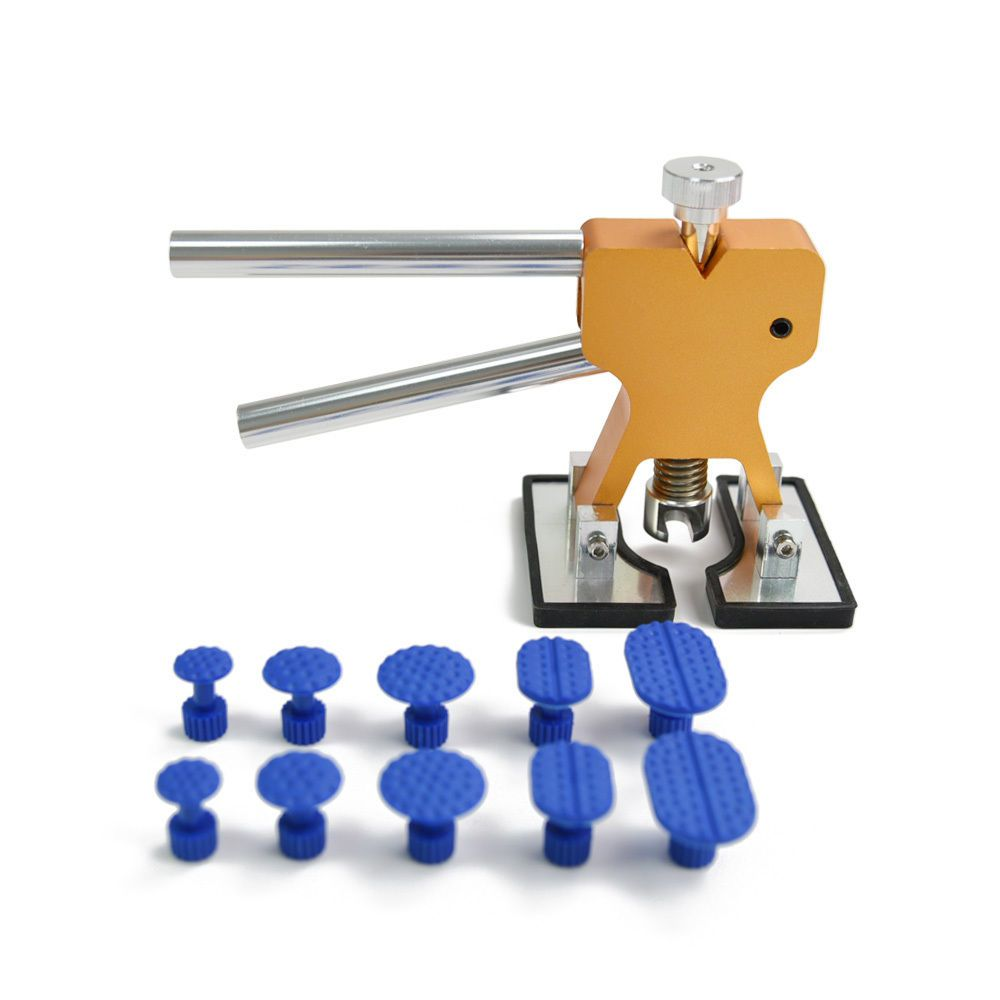 Furuix PDR Tools Paintless Dent Repair Tools Dent Removal Dent Puller Tabs Dent Lifter <font><b>Hand</b></font> Tool Set PDR Toolkit Ferramentas