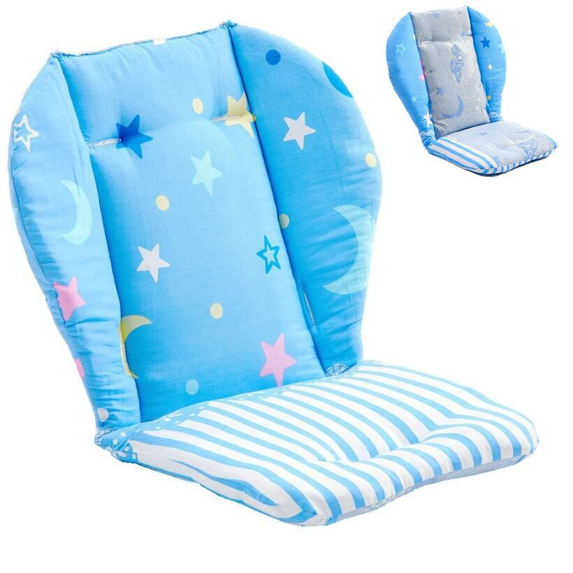 Universal Baby Stroller Cushion Baby Feeding Chair Cushion Child Safety Car Seat Cushion Infant Cotton Pram Pad Pushchair Mat