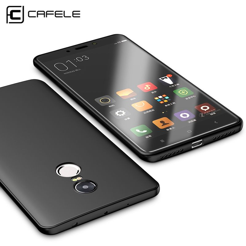 Cafele Original Soft TPU Phone Case for Xiaomi Redmi Note 4 / Note 4X Ultra-thin Protective Cover Case for Xiaomi Redmi Note 4X
