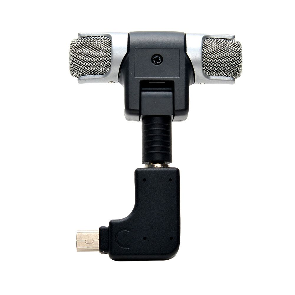 Mini Stereo Microphone Side Open Skeleton Housing Case Microphone Adapter Kit usb microphone for GoPro Hero 3 3+4