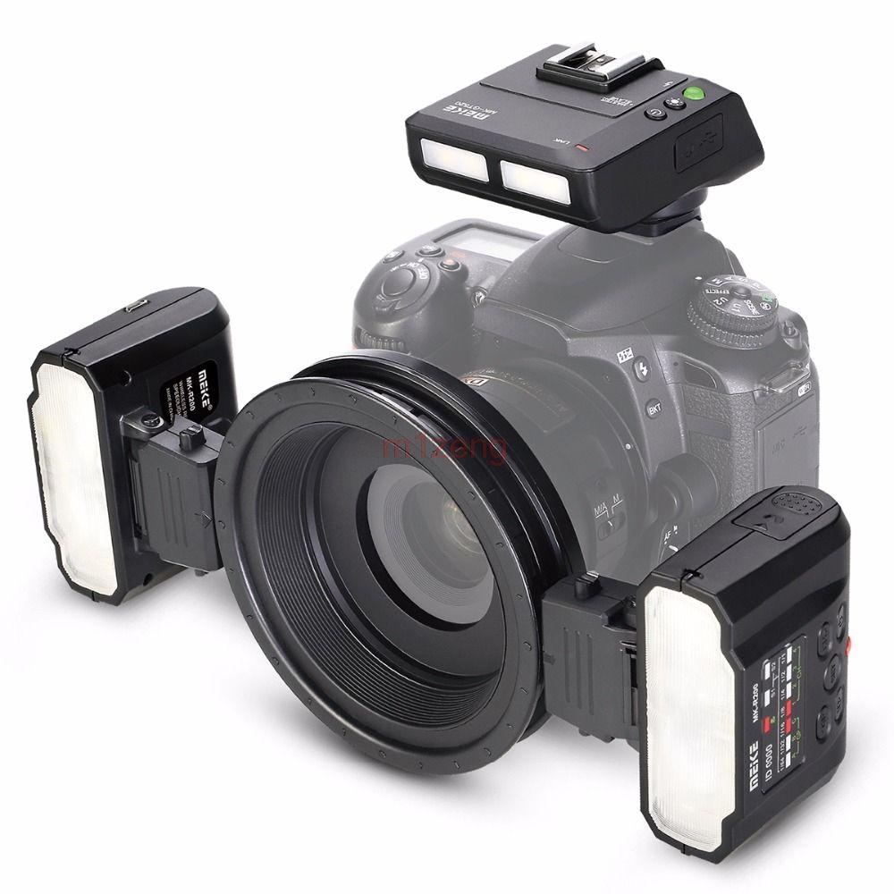 MT24 Macro Twin Lite Flash SPEEDLITE light for nikon D3 d90 d200 D300 d600 d700 d800 d850 d3300 d5500 d7100 camera