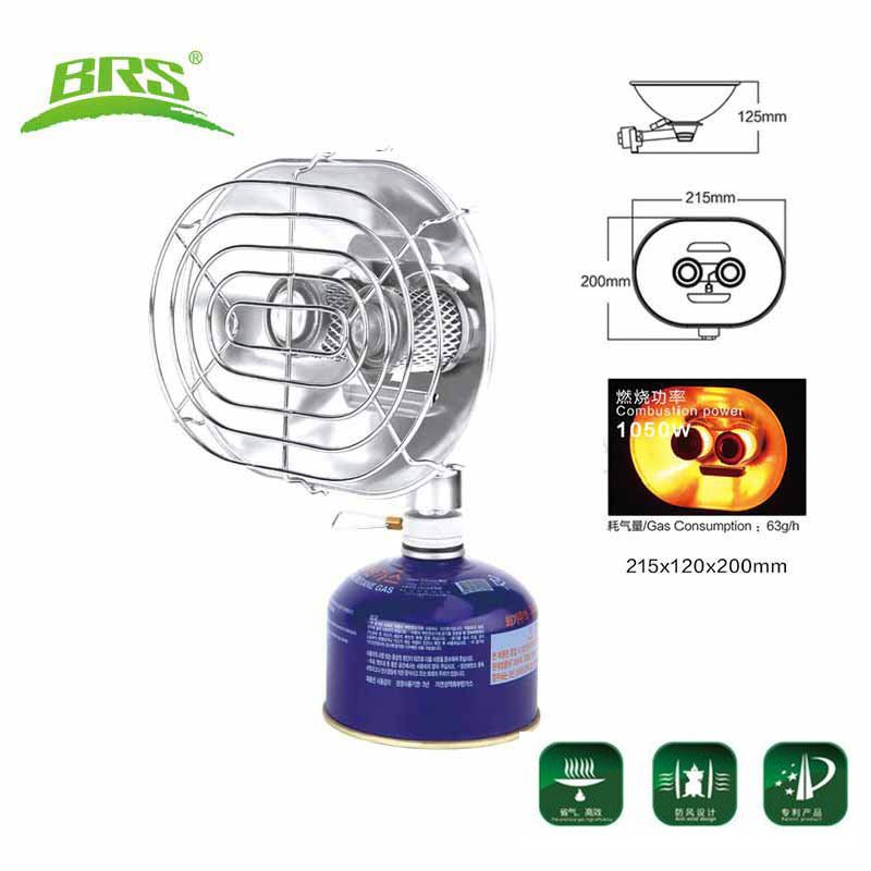 BRS Portable Gas Heater Outdoor Camping Fishing Hunting Propane Butane Tent Heater brs-h22