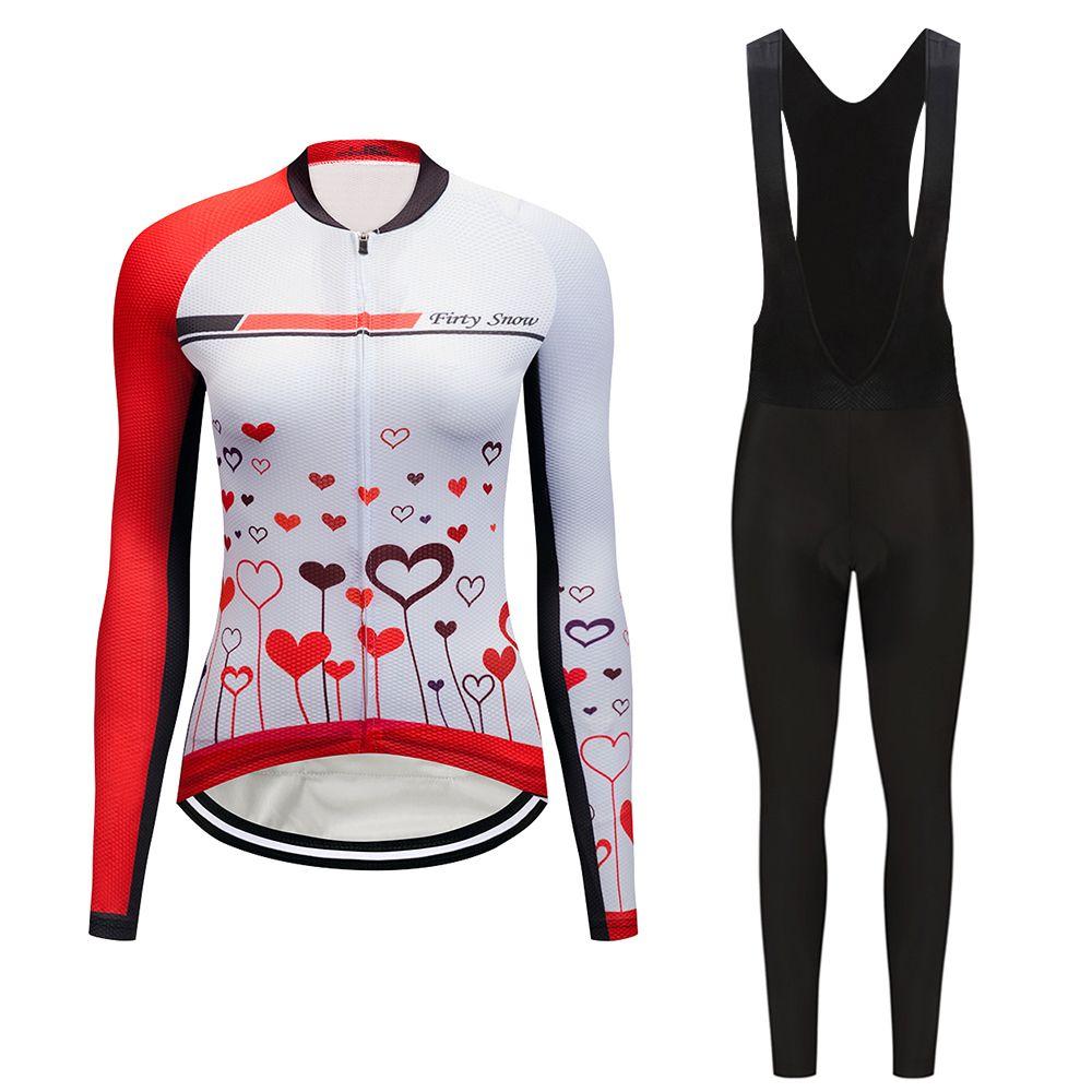 2018 frauen pro radfahren jersey set fahrrad kleidung mountainbike kleidung Sporting kit outdoor kleid sport tragen skinsuit anzug