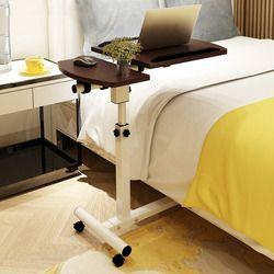 Elevación escritorio de la computadora móvil sofá cama portátil cama escritorio mesa escritorio aprendizaje mesa plegable portátil Mesa ajustable