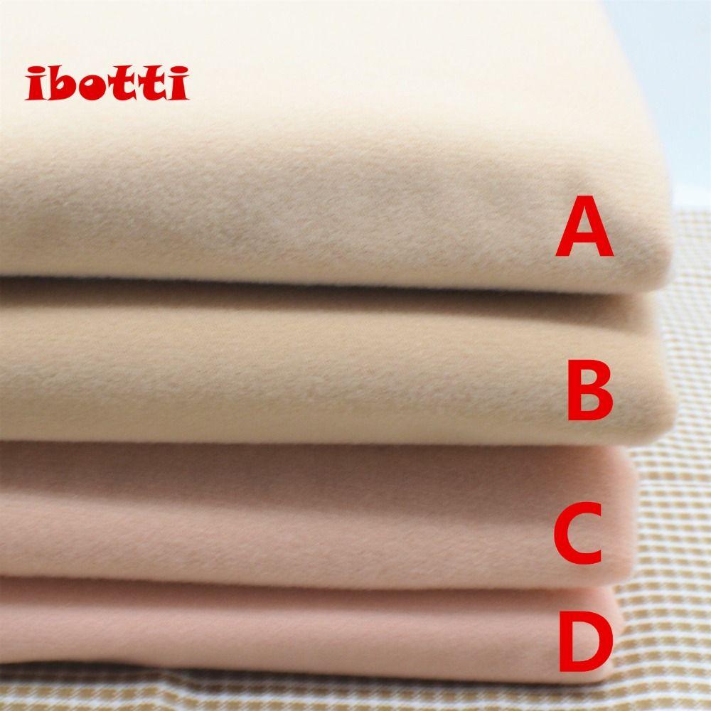 50*145cm Flesh color Diy Doll Skin Textile Fabric Fiber High density Nap Telas Tissus Sewing Patchwork Handmade Costura