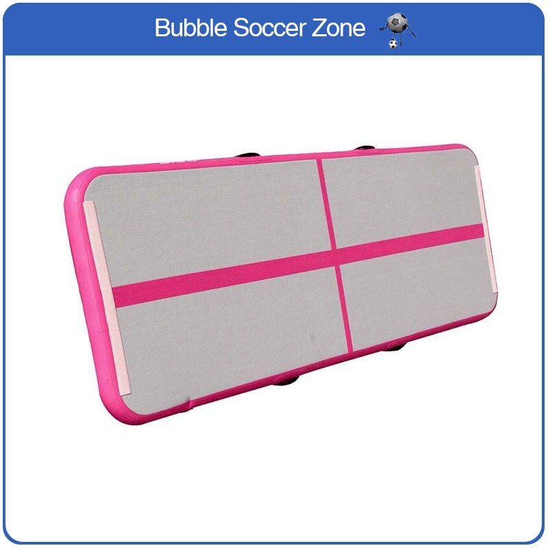 Free Shipping Small Air Track 3x1x0.2m Pink Gymnastics Inflatable Air Track Tumbling Mat Gym AirTrack For Sale