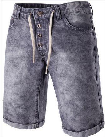 New Fashion Men Short Jeans Summer 98% Cotton Shorts Breathable Denim Shorts Male