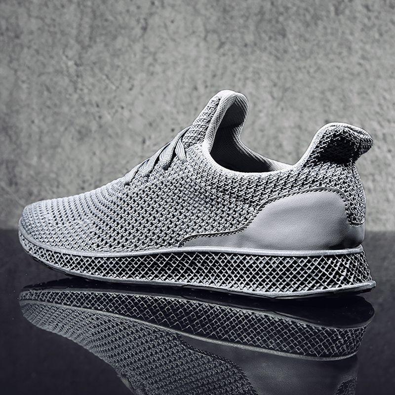MWSC Осень 2017 г. разработан летать ткать Мужские лёгкие ботинки будущее Theory Мужская дышащая Кружево для отдыха на шнуровке Chaussure Обувь