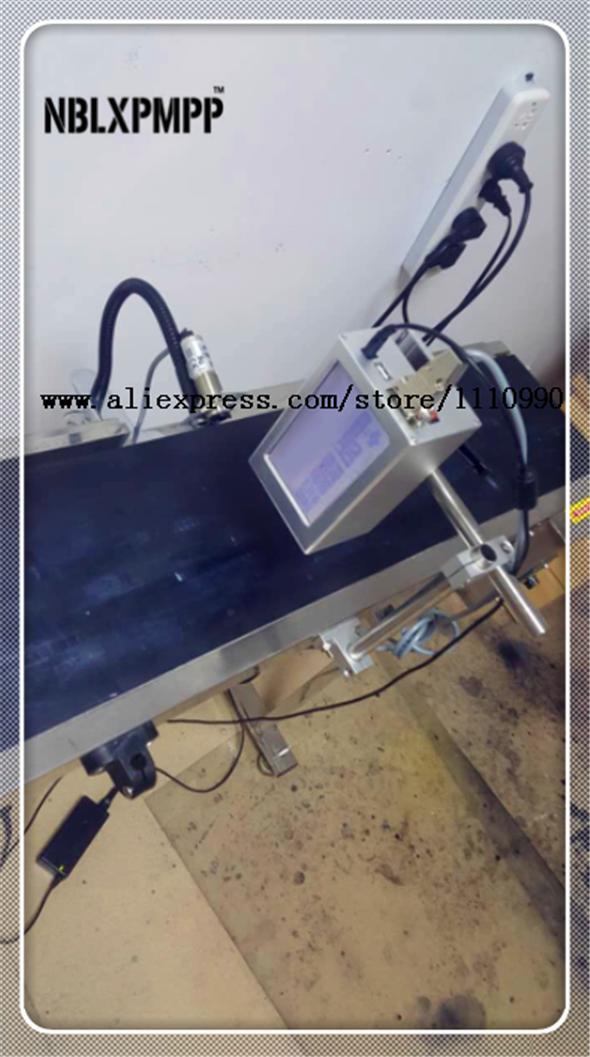 LUOXIN Gruppe NBLXPMPP Niedrigsten Fabrik Preis Höchste Qualität Automatische Druck Lösung Tintenstrahldrucker Codierung Maschine Datum Coder
