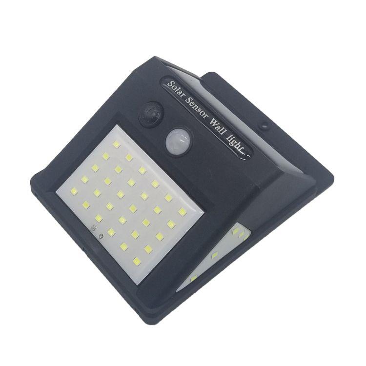 Imperméable à l'eau 20/40 LED lumière solaire énergie solaire PIR détecteur de mouvement LED jardin lumière extérieure voie sens lampe solaire applique murale