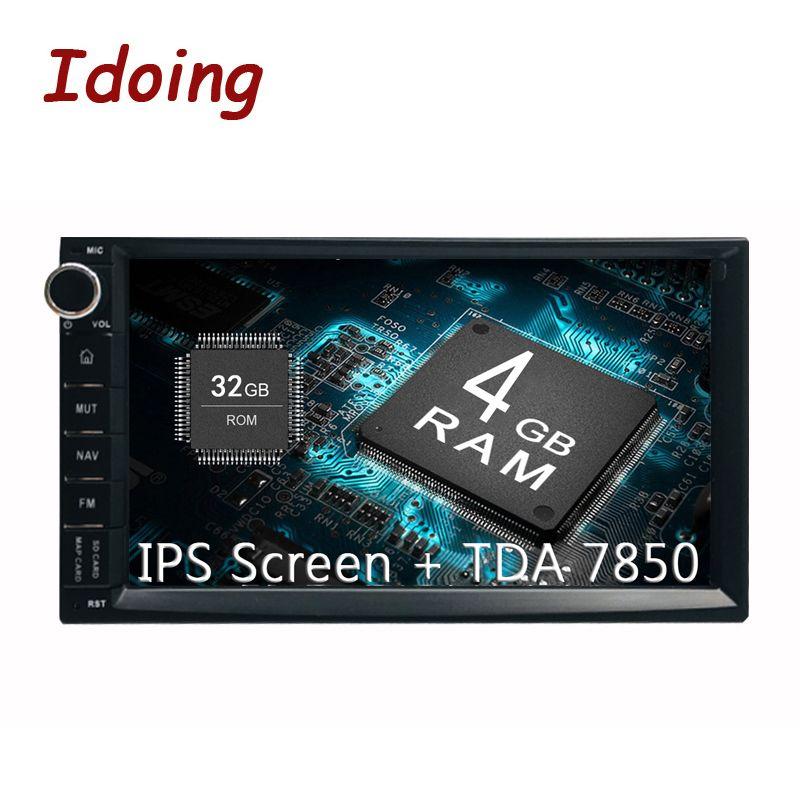 Idoing 7 PX5 4 GB + 32G 8 Core Universal 2Din Auto Android8.0 Radio Vedio Player IPS bildschirm GPS Navigation Multimedia Bluetooth NODVD