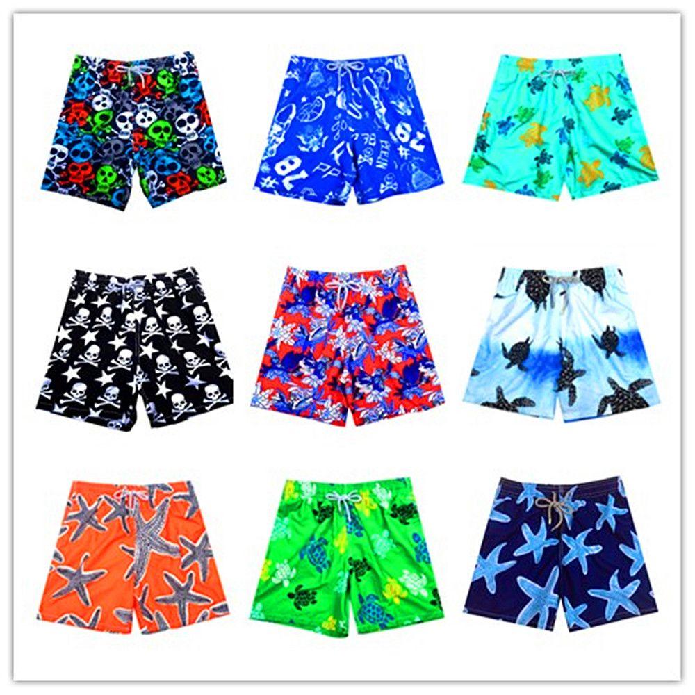 Бренд brevile pullquin Boardshorts человек черепаха принт Бермуды мужские пляжные шорты летние шорты Брюки для девочек пляжная одежда пикантные быстрос...