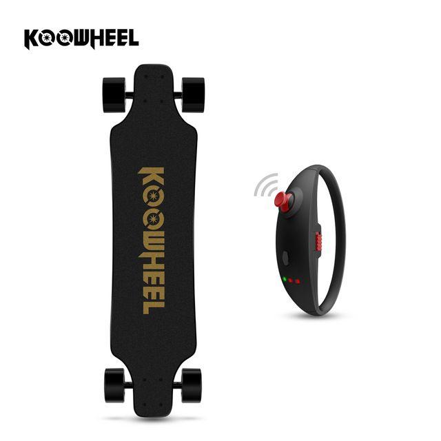 Koowheel 2nd Generation Hoverboard 4 Wheels Electric Longboard Replaceable Dual Hub Motor Electric Skateboard Boosted Board