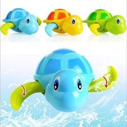 Bayi Anak-anak Multi Tipe Angin Kura-kura Rantai Mandi Shower Jam Air Mainan Bayi Oyuncak Mainan untuk Anak 1 pc