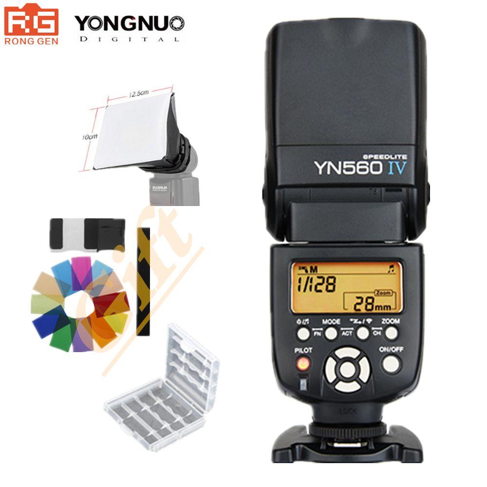 YONGNUO YN560 IV 2,4G Wireless Flash Speedlite A99 A58 A6000 A3000 A7 A7r A7s NEX-6N YN-560IV Für Sony Canon Nikon
