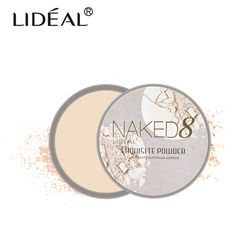 LIDEAL Marca Translucent Compacto Marco Acabado Polvos Prensados Face Contour Palette Mineraliza de Skinfinish Maquillaje Desnudo Suave