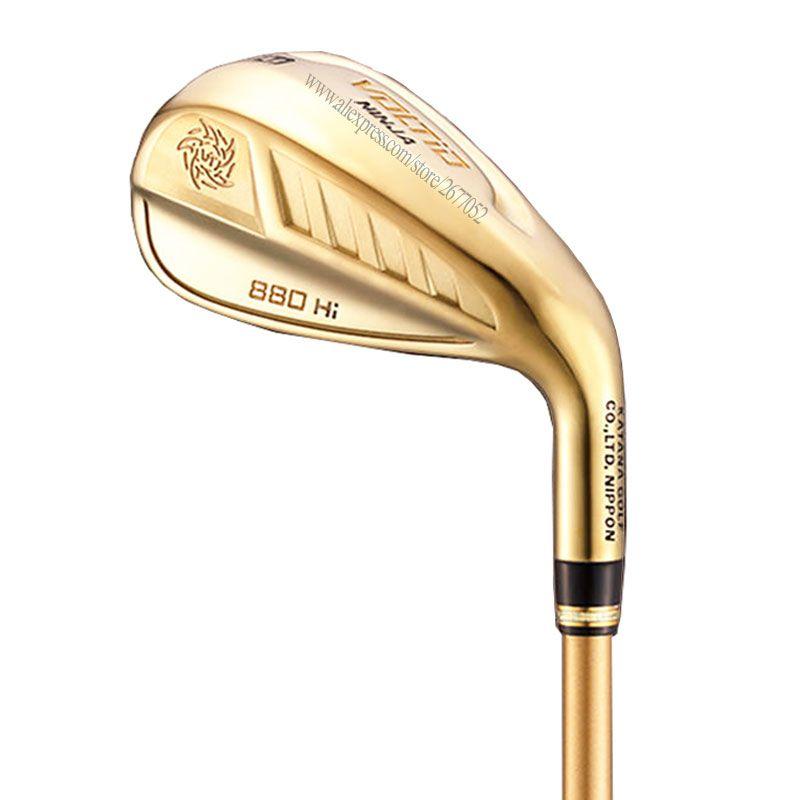 Cooyute Neue Golf Clubs KATANA VOLTIO NINJA 880Hi Golf Irons set 6-9PAS Graphit Golf welle Clubs irons headcover Kostenloser versand