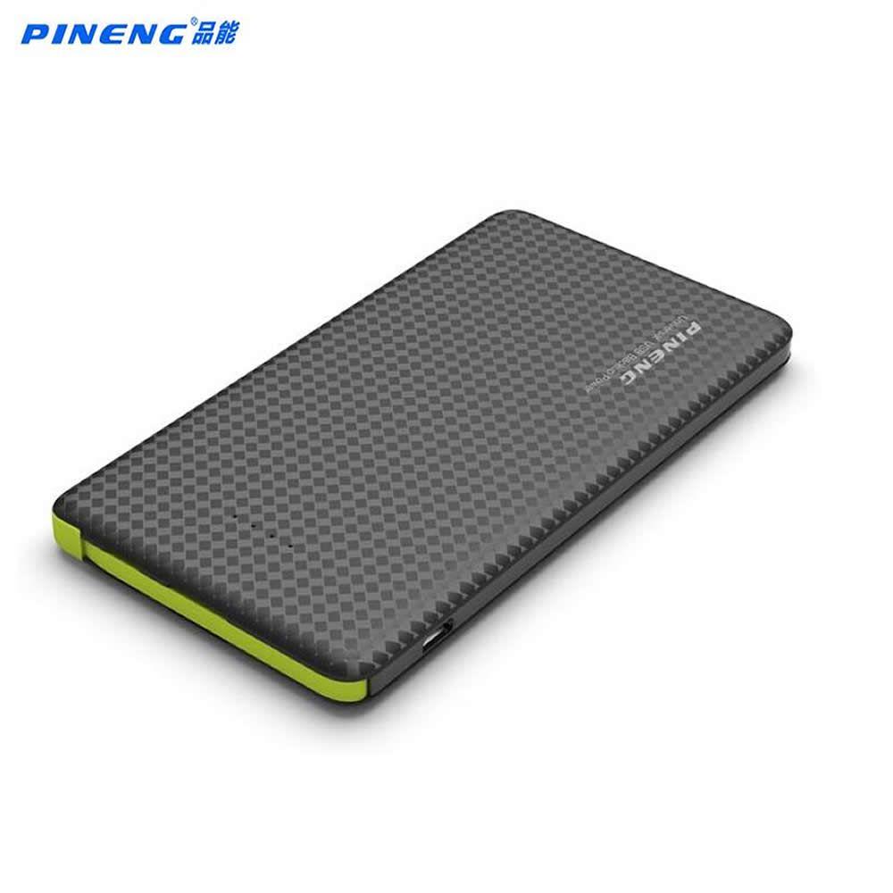 Original pineng Baterías portátiles 5000 mAh PN 952 batería externa powerbank 5 V 2.1a salida USB para iphone6s teléfonos Android