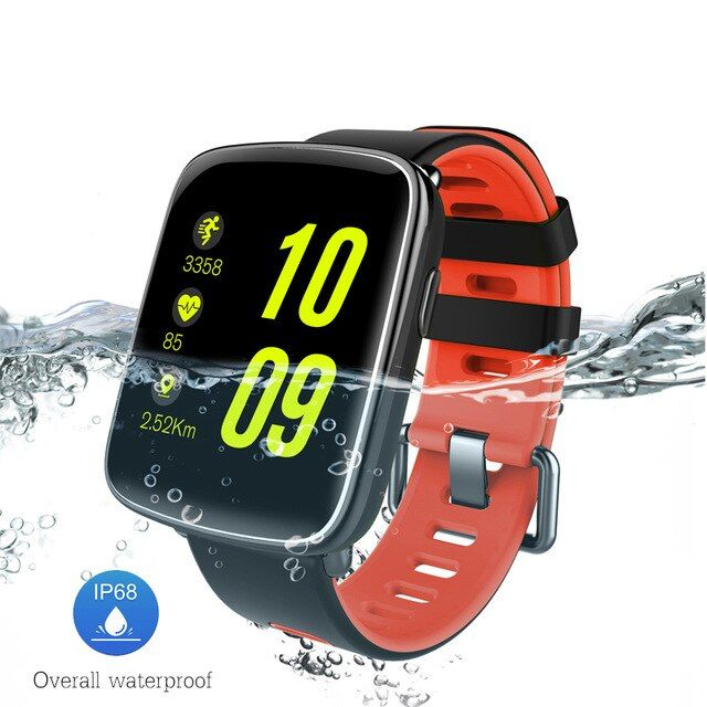 Smarcent GV68 Smart Watch IP68 Waterproof MTK2502 Bluetooth 4.0 SmartWatch Wearable device Heart Rate Monitor for iPhone Android