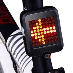 Велосипедные фары Автоматическая направлении индикатор фонарь зарядка через USB MTB велосипеда Детская безопасность Предупреждение свет