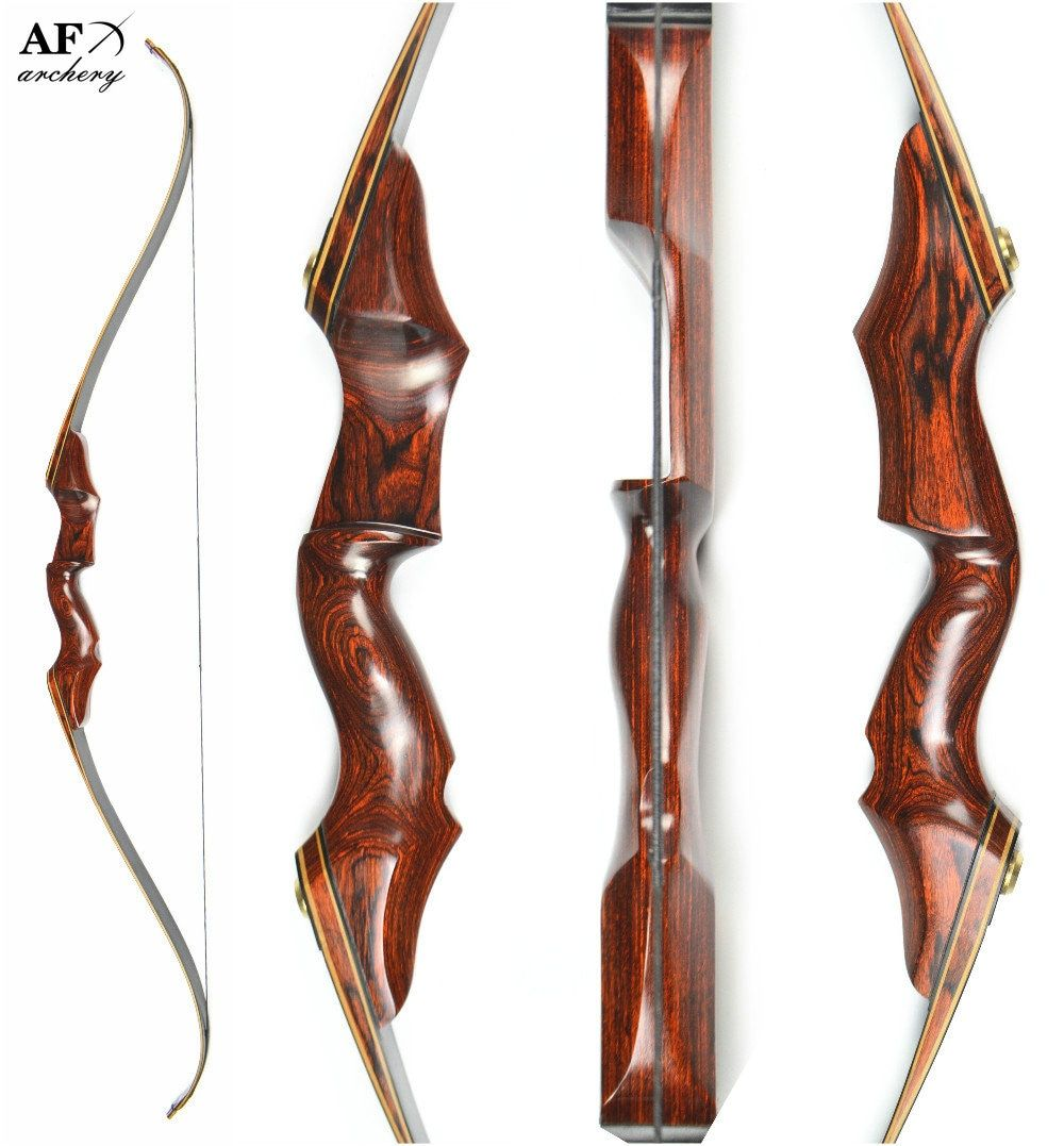 Takedown Black Wooden Chinese Recurve Archery Bow and Arrow Sport for Sale Bow Shooting Crossbow Hunting Slingshot