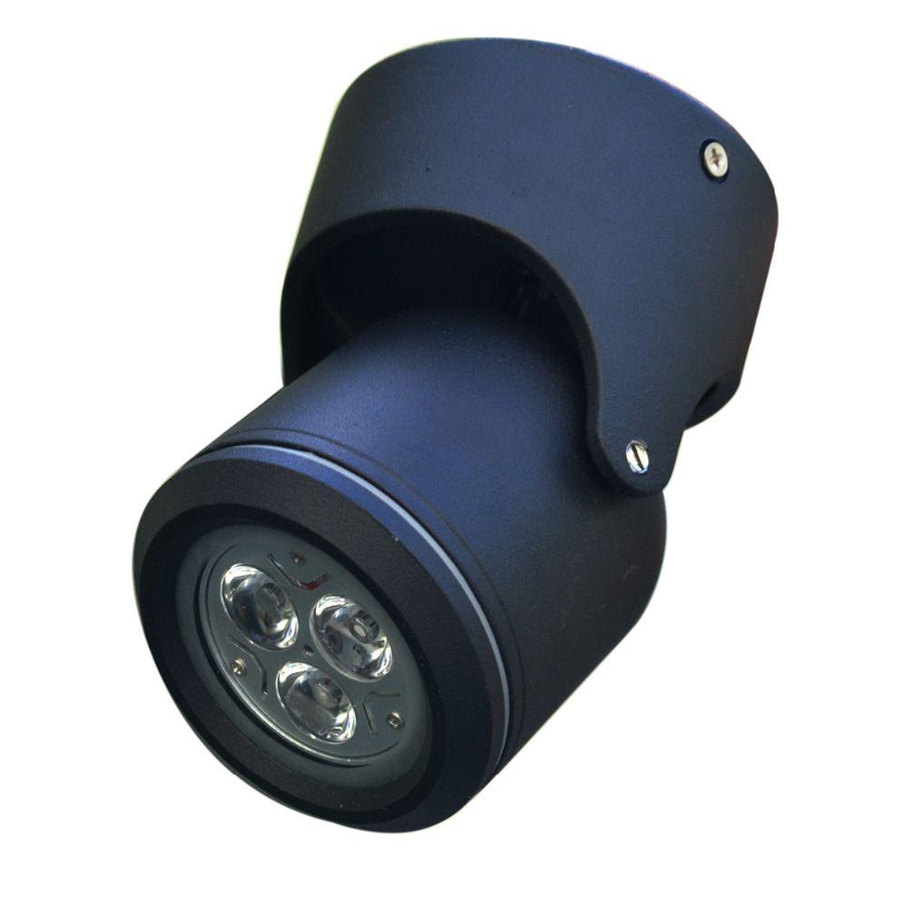 LED lumières Extérieures balcon plafond portes searchlighting spotlight, mur lumière, livraison gratuite