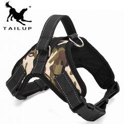[Tailup] Artículos para las mascotas para perro grande arnés K9 LED que brilla intensamente collar plomo cachorro mascotas chaleco perro lleva Accesorios chihuahua py0007