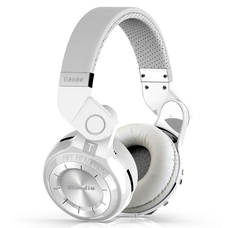 Bluedio original T2 Bluetooth Wireless Foldable Headphones Built-in Mic BT4.1 3D sound Headset for cell phone xiaomi Samsung