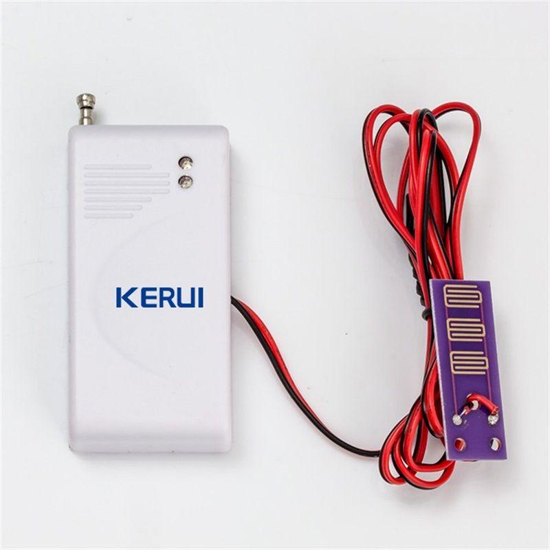 433 mhz Sans Fil Détecteur D'intrusion D'eau Fuite Capteur Travail Pour GSM RTC SMS Home Maison Système D'alarme de Sécurité