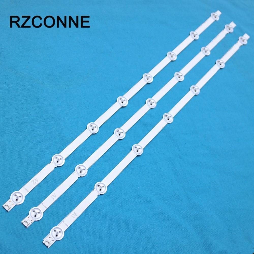 630mm * 12mm 7/8 leds LED Rétro-Éclairage Bandes pour LG Sumsang 32