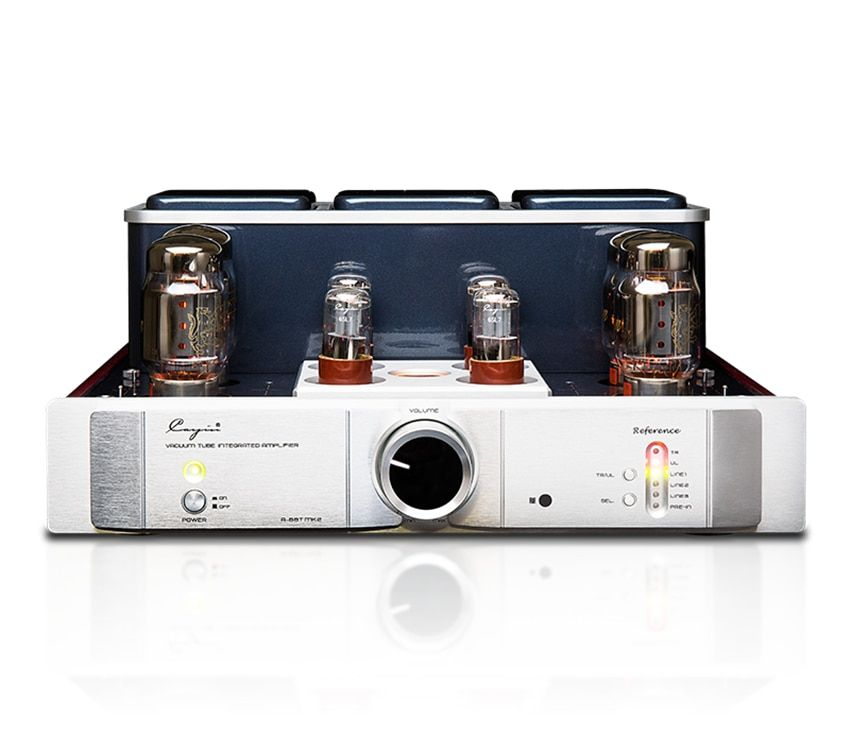 QUEENWAY CayinA-88TMK2 vacuum Tube amplifier EL34 KT88 6550EH x 4 class AB push-pull amplifier TR~UL switch BIAS ADJ. 35W*2