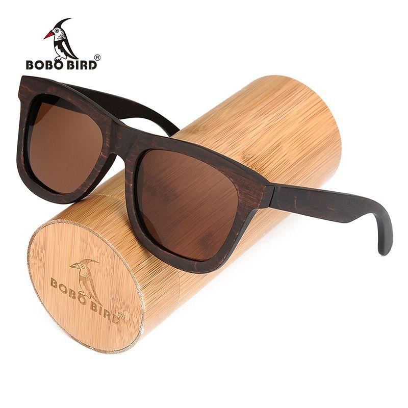 BOBO BIRD Polarized Sun Glasses Retro Men and Women Luxury Handmade Wood Sunglasses for Friends as Gifts AG005b Dropshipping OEM